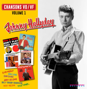 """Chansons VO/VF volume 1 <BR>Johnny Hallyday <BR> <strong><span style=""""color: #ff6600;"""">Disque vinyle 33 tours/25 cm + CD</span></strong>"""